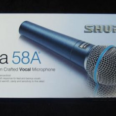 Microfon profesional Shure Beta 58 A.Made in Mexic