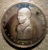 10.198 GERMANIA PERSONALITATI HEINRICH VON KLEIST 5 DEUTSCHE MARK 1977 G PROOF, Europa, Argint