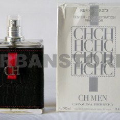 Parfum Tester Carolina Herrera CH Men + Livrare Gratuita in toata tara ! - Parfum barbati Carolina Herrera, Apa de toaleta, 100 ml, Piele