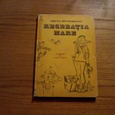 RECREATIA MARE -- Mircea Sintimbreanu -- desene Iurie Darie - 1987, 264 p. - Carte de povesti