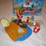 Playmobil 3664 - Plaja cu salvamar (4 ani+)
