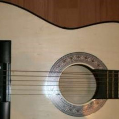 Chitara 3/4 din lemn ideala pentru incepatori + bonus pana si coarda - Chitara clasica