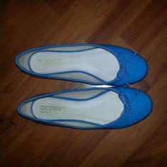 Balerini ESPRIT de lac albastri - Balerini dama Esprit, Culoare: Albastru, Marime: 40, Albastru