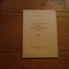 TAINA BISERICII IN GANDIREA LUI ALEXEI HOMIACOV ( 1804-1860 )  -- N.  Chitescu  -- 1948, 20 p.
