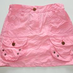 Fusta, fustita moderna pentru fetite, cu buzunare, marimea 10-12 ani, produs romanesc, Culoare: Roz