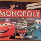 Monopoly Limba Romana Cars 2 pentru orice varsta - Jocuri Logica si inteligenta, 4-6 ani, Unisex