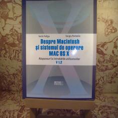 Sorin Paliga - Despre Macintosh si sistemul de operare MAC OS X