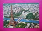 HOPCT 13565 FRANTA PARIS -TURNUL EIFFEL SI SENA          [ CIRCULATA ]