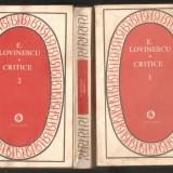 E.Lovinescu-Critice*3 vol. - Roman