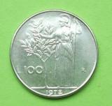 ITALIA 100 LIRE 1978, Europa