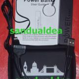 BATERIE EXTERNA POWER BANK(ACUMULATOR EXTERN)PORTABIL PENTRU TELEFON, CONSOLA, MP3, Universala