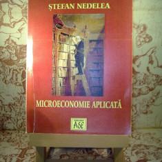 Stefan Nedelea - Microeconomie aplicata
