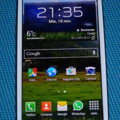 Vand telefon mobil Samsung i9300 Galaxy S III Alb (Marble White) in stare foarte buna de functionare, NECODAT + accesorii. Garantie producator 19 luni, Neblocat, Smartphone
