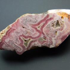 Specimen minerale - RHODOCROSIT - Fosila roca