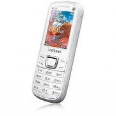 Vand Telefon Dual-Sim Samsung E2252 Alb! 99 lei - Telefon Samsung, <1GB, Neblocat, Single core, Nu se aplica