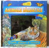 """""""ANIMALE SALBATICE. Cauta, gaseste si numara"""",  2008. Carte noua"""