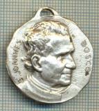 ATAM2001 MEDALIE 530 -RELIGIOASA-S.JOHANNES BOSCO(PREOT ITALIAN 1815-1888 SI-A DEDICAT VIATA EDUCARII COPIILOR DELICVENTI, AI STRAZII )-starea se vede