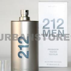 Parfum Tester Carolina Herrera 212 Men + LIVRARE GRATUITA ! - Parfum barbati Carolina Herrera, Apa de toaleta, 100 ml, Aromatic