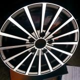 Set Jante INFINY Matrix 15X65 PCD 5X108 Et35 Grey Polished Finishing - Made in France, 15, 6,5