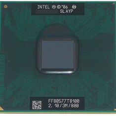 PROCESOR LAPTOP INTEL C2D T8100 2.1GHZ/3MB/800FSB SLAYP PERFECT FUNCTIONAL, Intel Core 2 Duo, 2000-2500 Mhz, Numar nuclee: 2, P