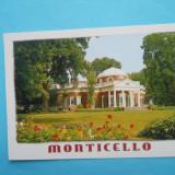 HOPCT 13624 SUA MONTICELLO -CHARLOTTESVILLE, VIRGINIA / CASA PRESEDINTELUI THOMAS JEFFERSON [ NECIRCULATA ]