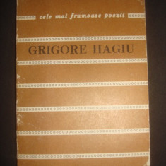 GRIGORE HAGIU - POEME * CELE MAI FRUMOASE POEZII