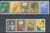 JUGOSLAVIA 1955, Flora, serie neuzata, MNH, Iugoslavia, Nestampilat