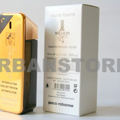 Parfum Tester Paco Rabanne 1 Million + LIVRARE GRATUITA! - Parfum barbati Paco Rabanne, Apa de toaleta, 100 ml, Lemnos oriental