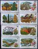 RWANDA 1975 - FLORI,NATURA 8 VALORI, NEOBLITERATE - RW 015