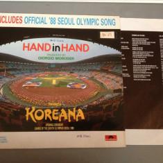 GEORGIO MORODER - HAND IN HAND(olympic songs)(1988/POLYGRAM REC/RFG)-VINIL/VINYL - Muzica Rock universal records