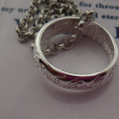 Pandantiv / Colier / Lantic LORD OF THE RINGS - LOTR  - Culoare Argintiu
