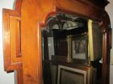 Oglinda cristal veche rama Art Deco , antica