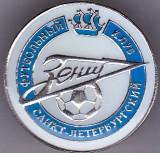 Insigna fotbal - ZENIT SAINT PETERSBURG (Rusia)