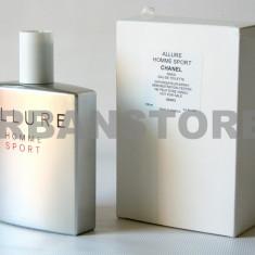 Parfum Tester Chanel Allure Homme Sport + LIVRARE GRATUITA ! - Parfum barbati Chanel, Apa de toaleta, 100 ml, Aromatic