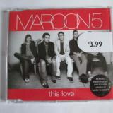 CD ORIGINAL MAROON5 THIS LOVE - Muzica Rock