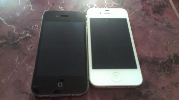 IPHONE 4 8GB stare foarte buna / necodat + folie fata spate cadou