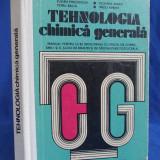 EUGEN PINCOVSCHI - TEHNOLOGIA CHIMICA GENERALA - BUCURESTI - 1977