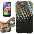 Husa silicon Samsung Galaxy S5 Mini G800 + folie protectie ecran + expediere gratuita Posta - sell by PHONICA, Negru