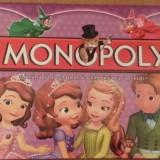 Joc Monopoly Sofia the First Limba Romana - Jocuri Logica si inteligenta, 8-10 ani, Unisex