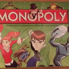 Joc Monopoly Ben 10 Limba Romana, 8-10 ani, Unisex
