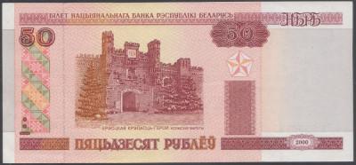 Belarus 50 ruble 2000 UNC foto