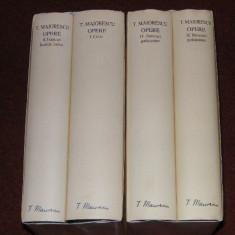 OPERE. Titu Maiorescu. Vol.l-ll-III-IV (Academia Romana) - Carte de lux