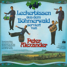 Peter Alexander - Leckerbissen Aus Dem Bohmerwald Serviert Von P.A. (Vinyl), VINIL, ariola