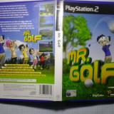 JOC PS2 Playstation - Mr Golf ( GameLand - sute de jocuri ) - Jocuri PS2, Sporturi, 3+, Multiplayer