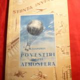 B.Liapunov -Povestiri despre Atmosfera - Ed. 1953 - Carte Fizica