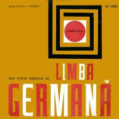 Editura didactica si pedagogica Bucuresti - Disc Pentru Manualul De Limba Germană Clasa A X-a (Vinyl) - Muzica soundtrack electrecord, VINIL