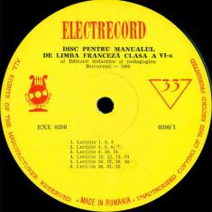 Editura didactica si pedagogica Bucuresti - Disc Pentru Manualul De Limba Franceză Clasa A VI-a (Vinyl) - Muzica soundtrack electrecord, VINIL