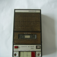 RADIOCASETOFON SENCOR 5050 , MADE IN JAPAN