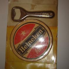Deschizator capace Heineken + 6 Biscuiti - Tirbuson si desfaractor