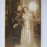 FOTOGRAFIE COLONEL REGALIST GINERE IN COSTUM DE PARADA - Fotografie veche